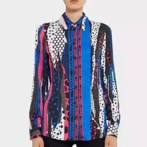 Versace versus blouse New auth sz4 sz40 it